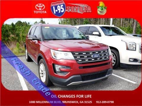 Pre-Owned 2016 Ford Explorer XLT FWD Sport Utility