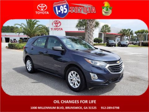 Pre-Owned 2018 Chevrolet Equinox LS FWD 4D Sport Utility