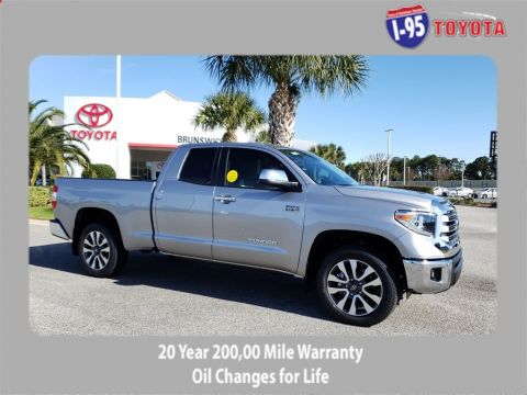 New 2020 Toyota Tundra Limited Double Cab 6.5' Bed 5.7L (Natl)