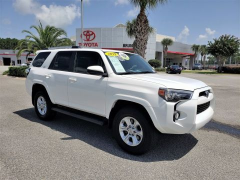 Pre-Owned 2019 Toyota 4Runner SR5 4WD 4D Sport Utility